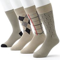Men's Croft & Barrow® 4-pk. Dress Socks