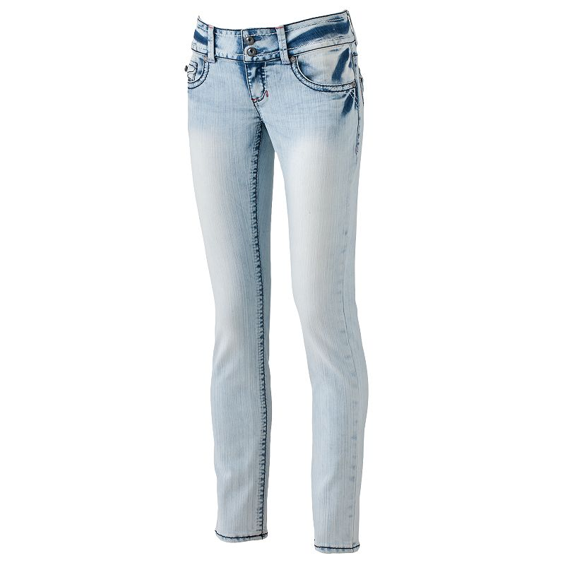 Hydraulic Gem Skinny Jeans - Juniors