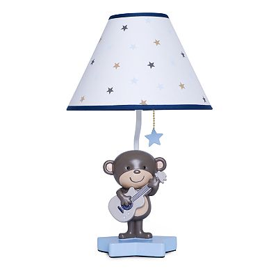 Carter's Monkey Rockstar Lamp