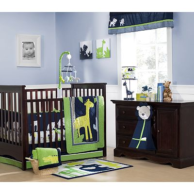 Carter's 4-pc. Safari Sky Crib Set