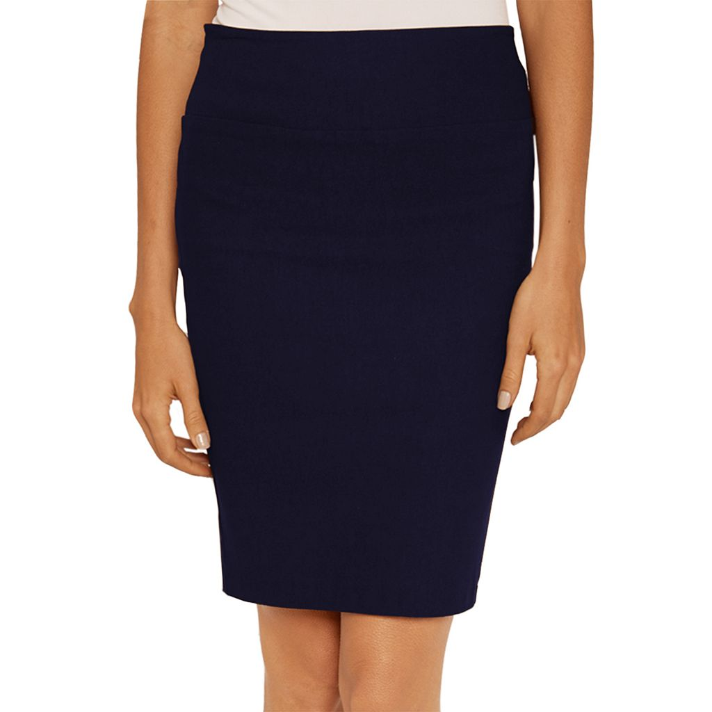 Juniors' IZ Byer Pull-On Pencil Skirt