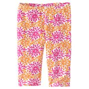 Jumping Beans Floral Pedal Pusher Leggings - Girls 4-7