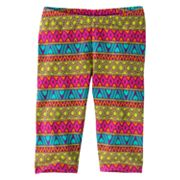Jumping Beans Geometric Pedal Pusher Leggings - Girls 4-7