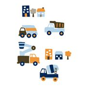 Carter's Street Fleet Wall Decals