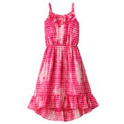 Mudd Tie-Dye Ruffle Dress - Girls 4-6x