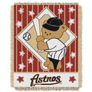 Houston Astros Baby Jacquard Throw by Northwest