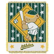 Oakland Athletics Baby Jacquard Throw by Northwest