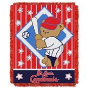 St. Louis Cardinals Baby Jacquard Throw by Northwest