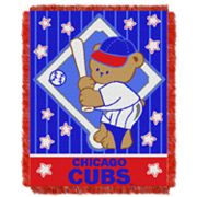 Chicago Cubs Baby Jacquard Throw by Northwest