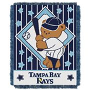 Tampa Bay Rays Baby Jacquard Throw by Northwest