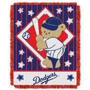 Los Angeles Dodgers Baby Jacquard Throw by Northwest