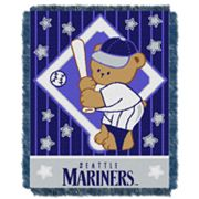 Seattle Mariners Baby Jacquard Throw by Northwest