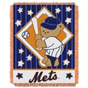 New York Mets Baby Jacquard Throw by Northwest