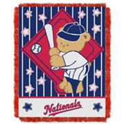 Washington Nationals Baby Jacquard Throw by Northwest