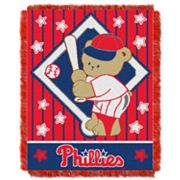 Philadelphia Phillies Baby Jacquard Throw by Northwest