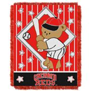 Cincinnati Reds Baby Jacquard Throw by Northwest