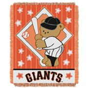 San Francisco Giants Baby Jacquard Throw by Northwest