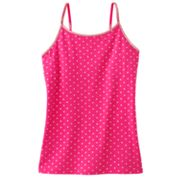 SO Polka-Dot Strappy Tank - Girls 7-16