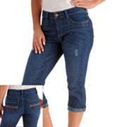 Lee Astor Slimming Denim Capris