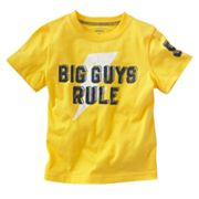 Carter's Big Guys Rule Tee - Baby