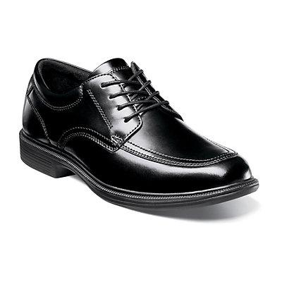 Nunn Bush Bourbon Street Men?s KORE Moc Toe Oxford Dress Shoes