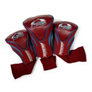 Team Golf Colorado Avalanche 3-pc. Contour Head Cover Set