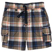 Carter's Plaid Cargo Shorts - Baby