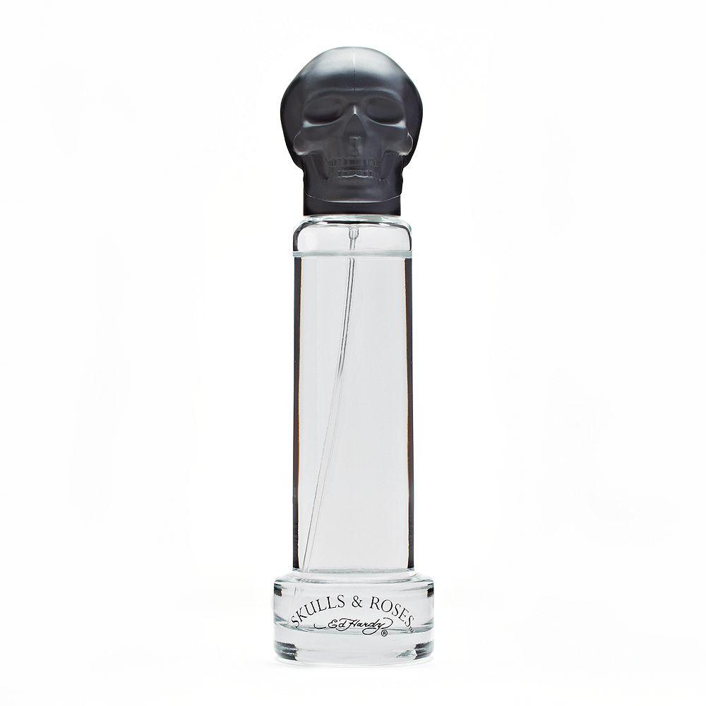 Ed Hardy Skulls & Roses Men's Cologne - Eau de Toilette