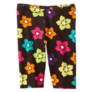 Jumping Beans Floral Pedal Pusher Leggings - Toddler