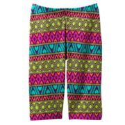 Jumping Beans Geometric Pedal Pusher Leggings - Toddler