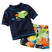 Carter's Fish 2-pc. Rash Guard Set - Baby