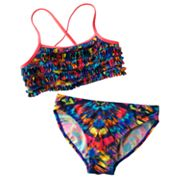 Mudd Tie-Dye 2-pc. Bikini Swimsuit Set - Girls 7-16