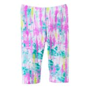 Jumping Beans Tie-Dye Pedal Pusher Leggings - Toddler