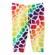 Jumping Beans Giraffe Pedal Pusher Leggings - Toddler