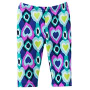 Jumping Beans Ikat Pedal Pusher Leggings - Toddler