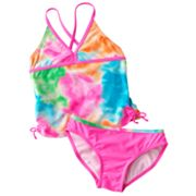 SO Watercolor 2-pc. Tankini Swimsuit Set - Girls 7-16