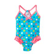 Carter's Dotted One-Piece Swimsuit - Baby