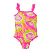 Carter's Floral One-Piece Swimsuit - Baby