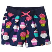 Jumping Beans Cupcake Shorts - Toddler