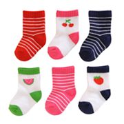 Carter's 6-pk. Fruit Socks - Baby