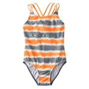 SO Tie-Dye One-Piece Swimsuit - Girls 7-16