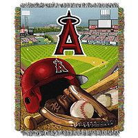 Los Angeles Angels of Anaheim Tapestry Throw by Northwest