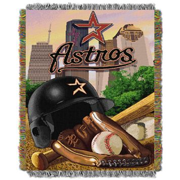 Houston Astros Tapestry Throw by Northwest