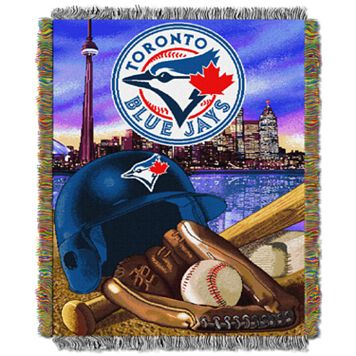 Toronto Blue Jays Tapestry Throw by Northwest