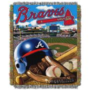 Atlanta Braves Tapestry Throw by Northwest