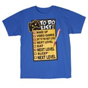 Urban Pipeline To Do List Games Tee - Boys 8-20
