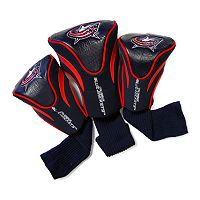 Team Golf Columbus Blue Jackets 3-pc. Contour Head Cover Set