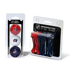 Team Golf Columbus Blue Jackets Ball & Tee Set