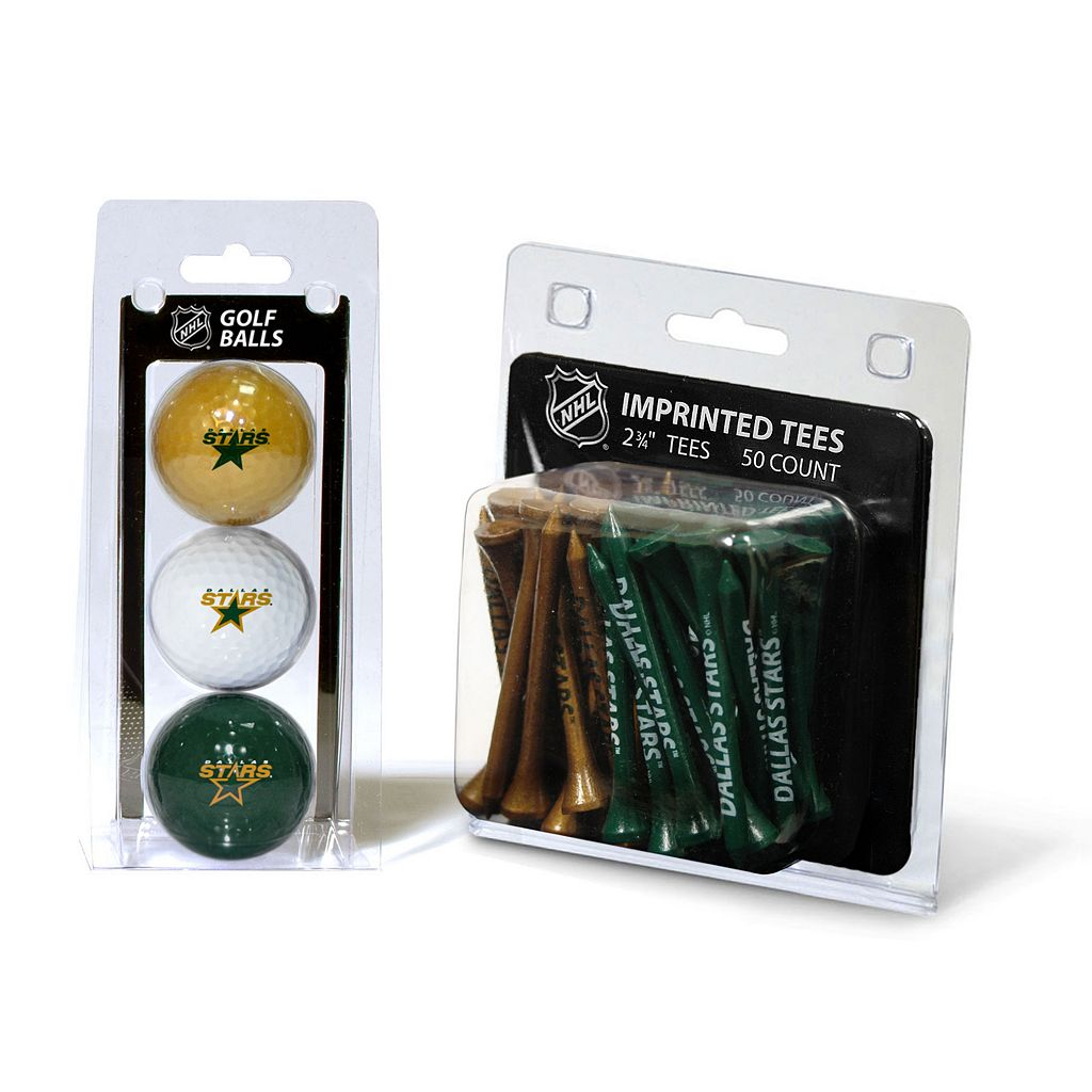 Team Golf Dallas Stars Ball & Tee Set