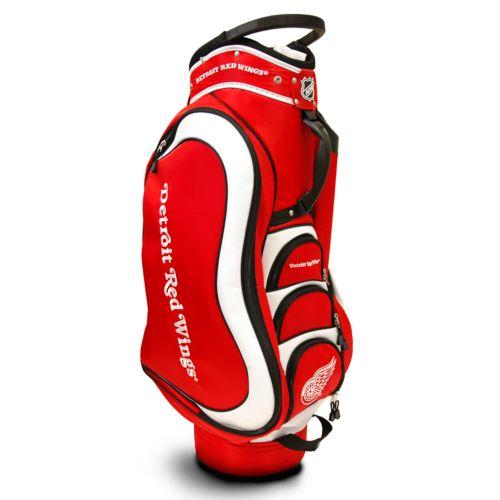 Team Golf Detroit Red Wings Medalist Cart Bag